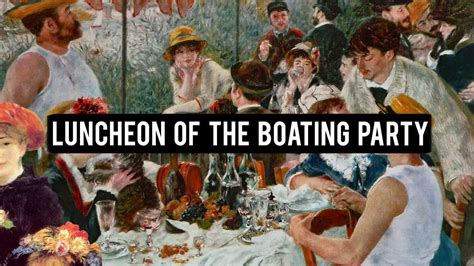 Luncheon Of The Boating Party Npr by Pierre Auguste Renoir Luncheon Of The Boating Party