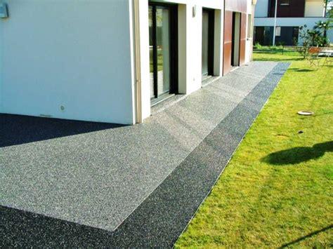 terrasse en resine prix au m2 de conception de maison