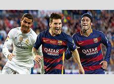 Race to the Ballon d'Or Messi Ronaldo Neymar Goalcom
