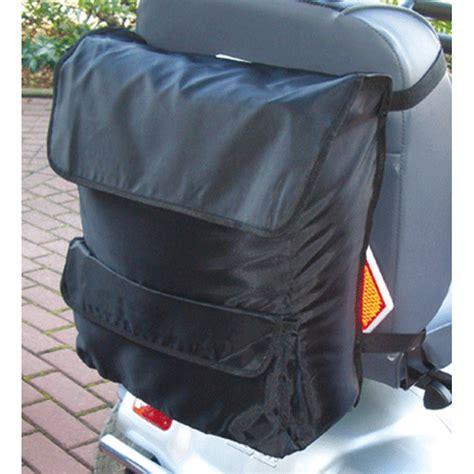 sac pour dossier de fauteuil roulant ou scooter sofamed