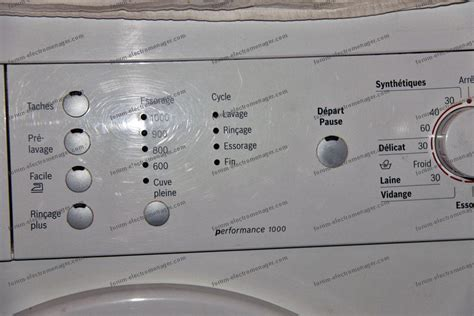 conseils 201 lectrom 233 nager probl 232 me param 233 trage lave linge bosch maxx7