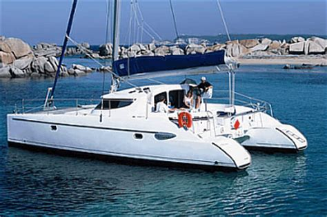 Catamaran 40ft Engine by Yachtcharter Katamaran Lavezzi 40