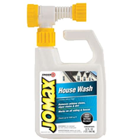 zinsser 174 jomax 174 house wash product page