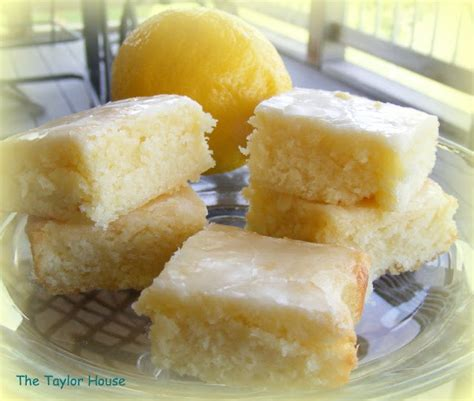 lemon poke cake dessert recipe the house