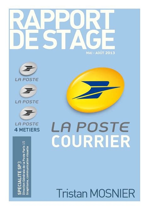 calam 233 o rapport stage poste