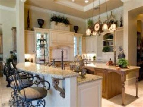 Traditional Home Decor, Tuscan French Country Kitchen