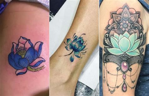 Lotus Flower Tattoo Meaning & Where To Get It