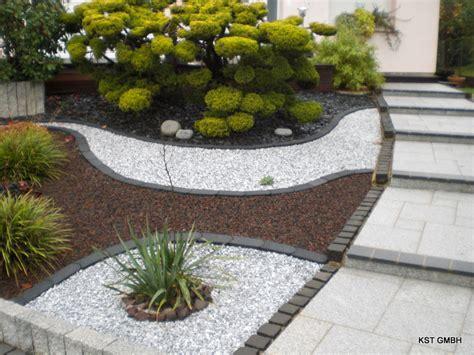 idee deco jardin avec cailloux idee deco parterre jardin reference maison