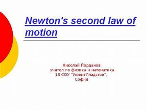 What Is Newtons Second Law Of Motion | Car Interior Design