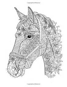 Halloween Colouring Books For Adults by Horse Coloring Book Coloring Stress Relief Patterns For