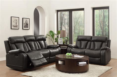 Homelegance Ackerman Reclining Sofa Set Funda De Sofa Ekeskog Paletten Kissen Leather Minneapolis Art Van Recliners Comfortable Two Seater Couch Settee Class How To Make Inexpensive Covers Value City Furniture