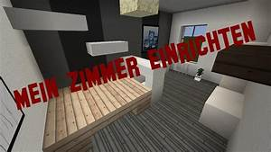 Mein Zimmer Einrichten : minecraft m bel einrichten mein zimmer infos youtube ~ Markanthonyermac.com Haus und Dekorationen