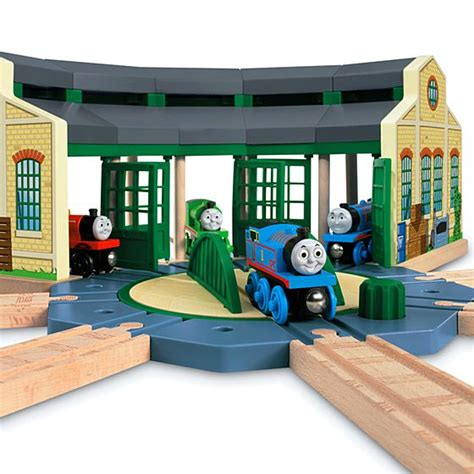 friends wooden railway tidmouth sheds
