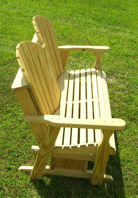 free adirondack glider bench plans woodworking projects