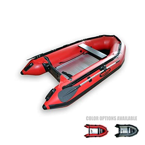 Inflatable Boat With Rigid Floor by Seamax Ocean290 Heavy Duty 9 5 Feet Inflatable Boat With