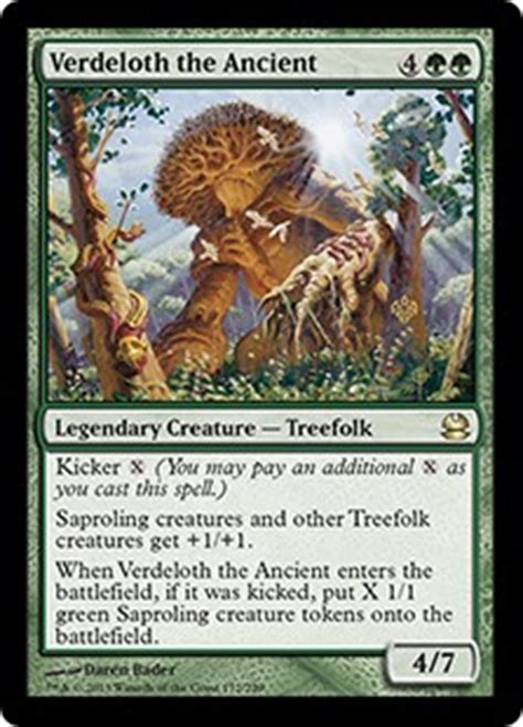 verdeloth the ancient modern masters gatherer magic