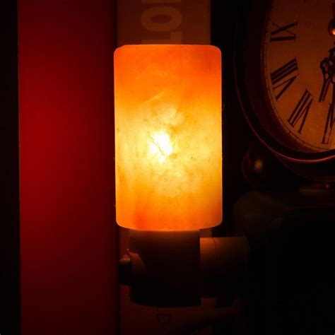 Natural Himalayan Salt Night Light Decorative Air Purifier