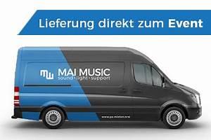 Sprinter Mieten Münster : mai music musiktechnikverleih musikanlagen mieten ~ Markanthonyermac.com Haus und Dekorationen