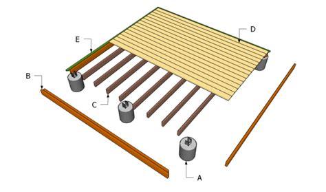 ground level deck plans myoutdoorplans free