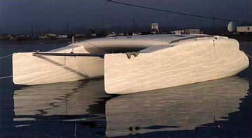Catamaran Hull Plywood by Kurt Hughes Multihull Design Catamarans And Trimarans