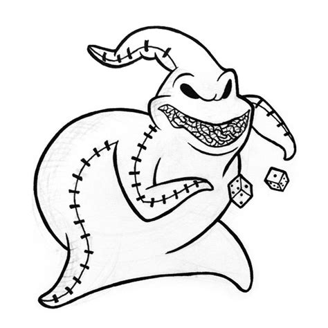 Jack And Sally Pumpkin Stencil Free by Oogie Boogie Coloring Pages 6 Colouring Pictures The