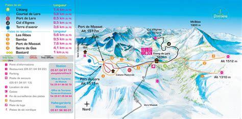 site de l 201 tang de lers hiver espace nordique ski de fond raquettes