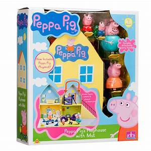 PEPPA PIG - PEPPA PIG'S PLAYHOUSE WITH FIGURES - DADDY ...