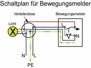 Lampe Mit Bewegungsmelder Und Schalter : schaltplan f r bewegungsmelder mit schalter ~ Markanthonyermac.com Haus und Dekorationen
