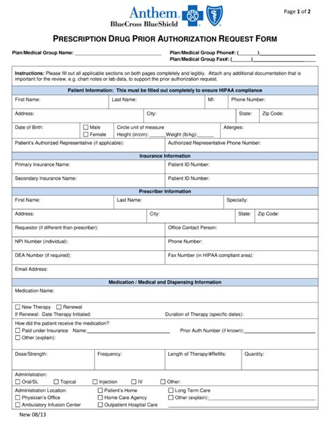 Catamaran Rx Claim Form by Patient Authorization Form Free Express Scripts Prior Rx