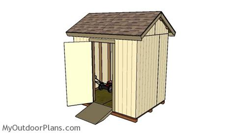 free 6x8 shed plans myoutdoorplans free woodworking plans and projects diy shed wooden