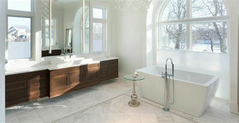 Contemporary White Bathrooms