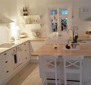 Küche Deko Ikea : supertolle wei e landhausk che ikea k che pinterest haus haus k chen und wohnung k che ~ Markanthonyermac.com Haus und Dekorationen