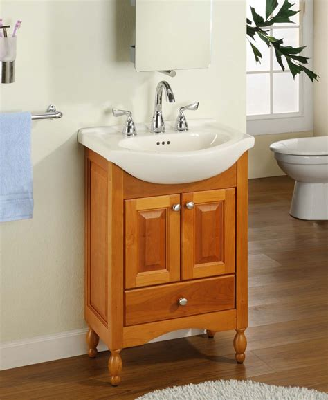empire industries 22 quot shallow depth vanity with ceramic sinktop w22