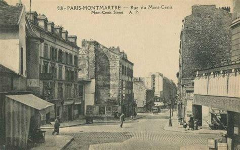 les anciennes rues de rue du mont cenis 18 232 me arrondissement