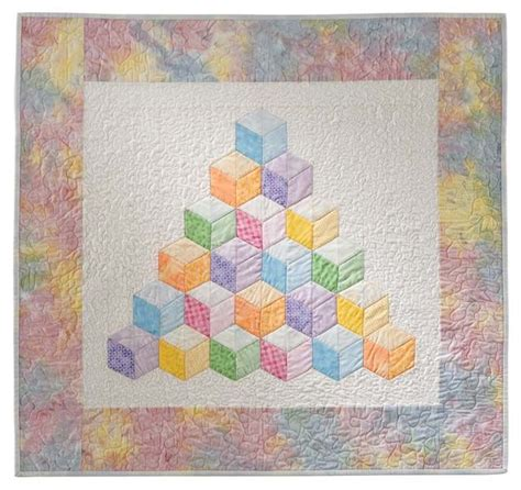 Tumbling Block Quilt Pattern Template by 25 Best Ideas About Tumbling Blocks On Pinterest Quilt