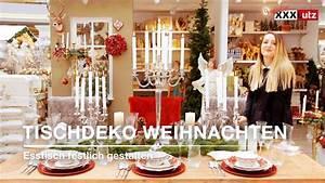 Esstisch Weihnachtlich Dekorieren : weihnachtsdeko tisch weihnachtlich eindecken xxxlutz youtube ~ Markanthonyermac.com Haus und Dekorationen