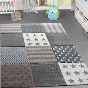 Teppich Kinderzimmer Grau : kinderzimmer teppich stern design spielteppich gem tlich kinder beige grau creme ebay ~ Markanthonyermac.com Haus und Dekorationen