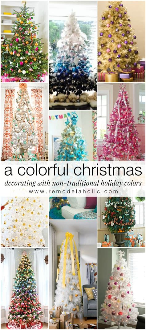 Red Barn Decor by Remodelaholic Decorating With Non Traditional Christmas