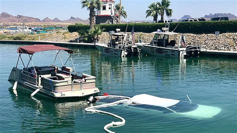 Boating Accident At Lake Havasu by Truck Submerged In Lake Havasu The Daily Courier