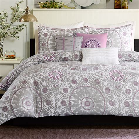 Lavender And Grey Bedding by Contemporary Country Bedroom With Grey And Purple