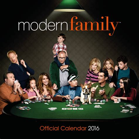 modern family tv calendars 2018 on europosters