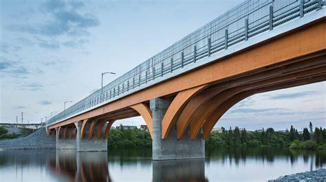 pont maicasagi le bois au profit de l ing 233 nierie r 233 seau espace bois