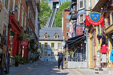 Quartier Petit Champlain In Quebec City