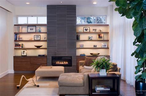 дизайн современных каминов стильный интерьер комнат с камином