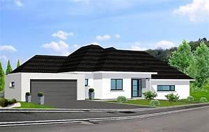 Plan Maison Individuelle 3 Chambres 48 Habitat Concept - Modele ...