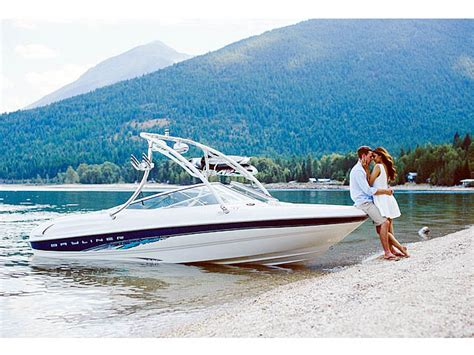 Wake Boat With Cabin by Bayliner Boat Towers Wakeboarding Accessories