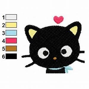 Cute Chococat Embroidery Design