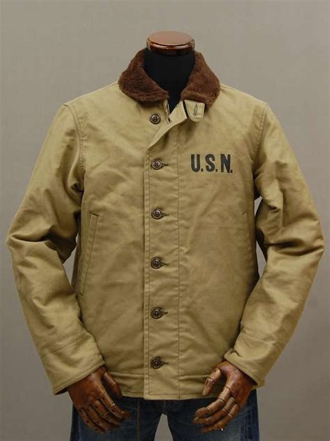 japanese repro wwii n 1 deck jacket the real makkoizu look the o jays jackets