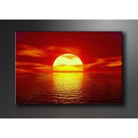 tableau imprim 233 mer couche de soleil achat vente