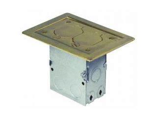 hubbell floor box s1pfb on popscreen